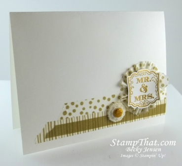 Stampin' Up! Washi Tape Card