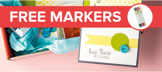 Free Stampin' Up! Markers
