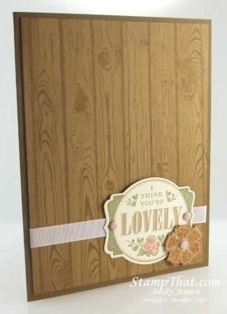 Stampin' Up! You're Lovely stamp set