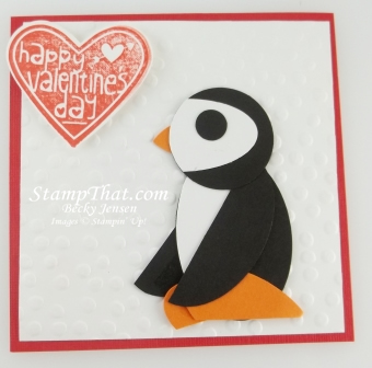 Stampin' Up! Punch Penguin