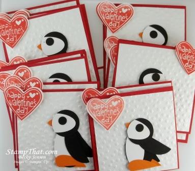 Handmade valentines for children