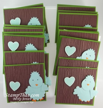 Stampin' Up! Punch Art Valentine
