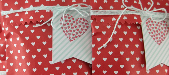 Sweetheart Treat Bag Valentines