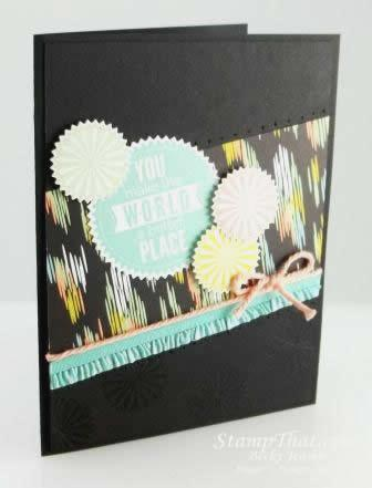 Sweet Sorbet Card