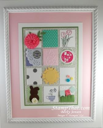 Spring Sampler with Card Stock & Ribbon