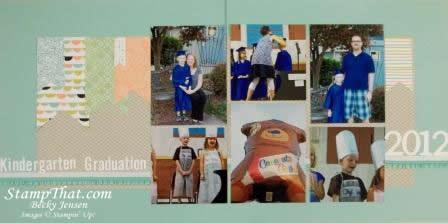 Kindergarten Graduation page