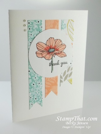Peaceful Petals stamp set