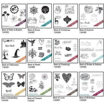 Best of 25 stamp sets