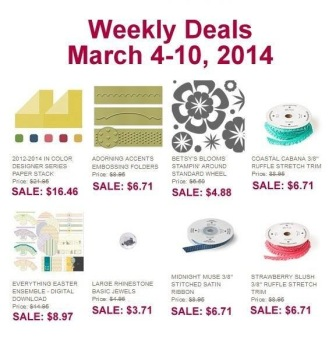 March 4 Weekly Deals