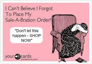Don't miss Sale-a-Bration