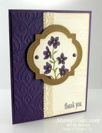 Stampin' Up! Peaceful Petals