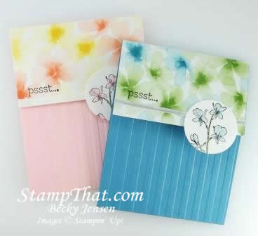 Happy Watercolor stamp set