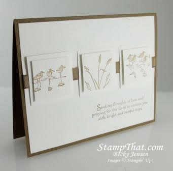 Stampin' Up! Wetlands