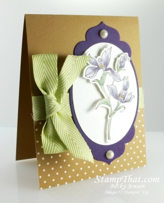 Stampin' Up! Backyard Basics