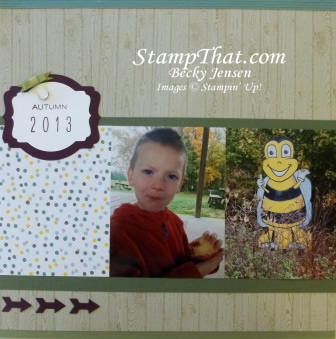 2 page scrapbook layout
