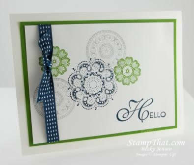 Lacy & Lovely stamp set