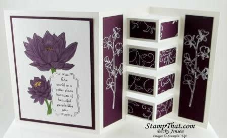 Fancy Folding Card