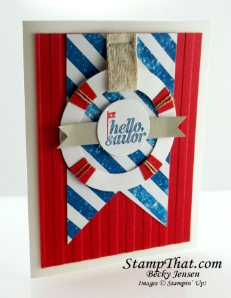 Stampin' Up! Hello Sailor stamp set