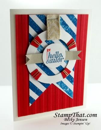 Stampin' Up! Hello Sailor stamp set
