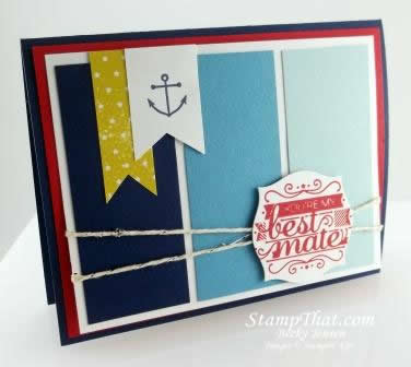 Hello Sailor stamp set