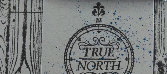 True North Handmade Card