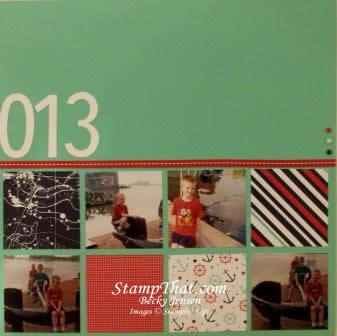 Stampin' Up! Scrapbookiing