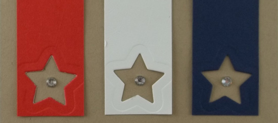 Star & Stripes Patriotic Card