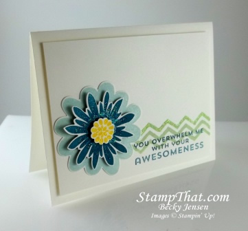Flower Patch & Work of Art stamp sets