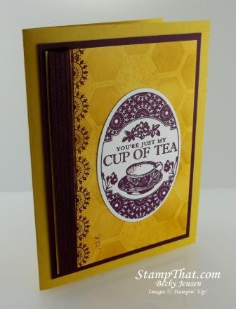 Stampin' Up! Tea Party stamp set
