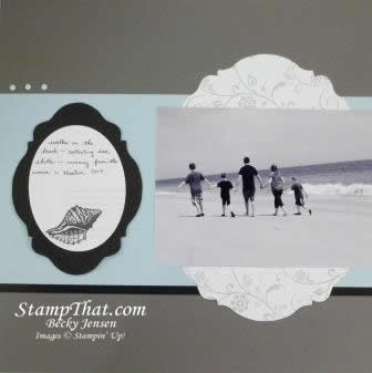 By the Tide stamp set