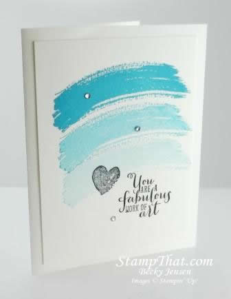 Work of Art from Stampin' Up!