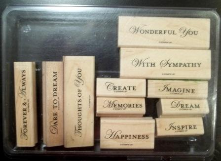 Loving Thoughts - Wood Mount - $18.00