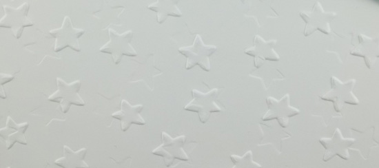 Stars Embossing Folder Card