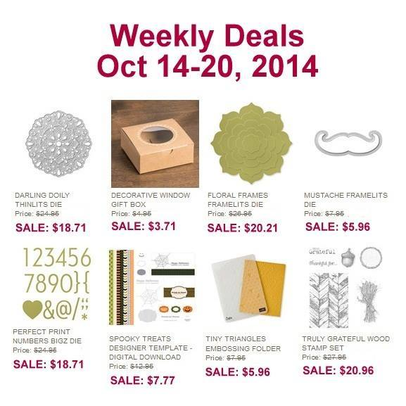 Stampin' Up! Sale - Oct 14-20