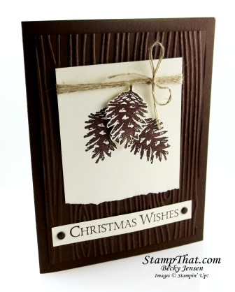 Stampin' Up! Ornamental Pine stamp set