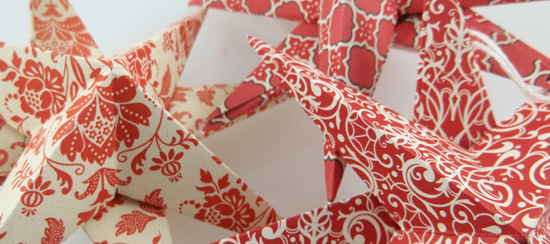 Handmade 3D Star Ornaments