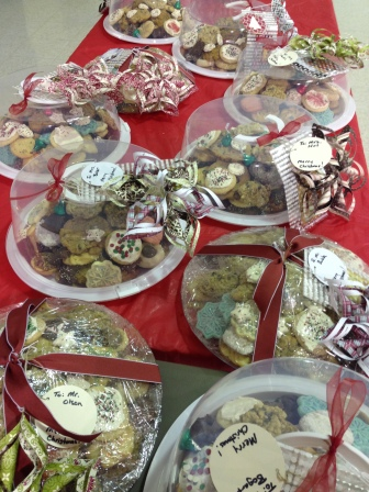 Decorated Cookie platters