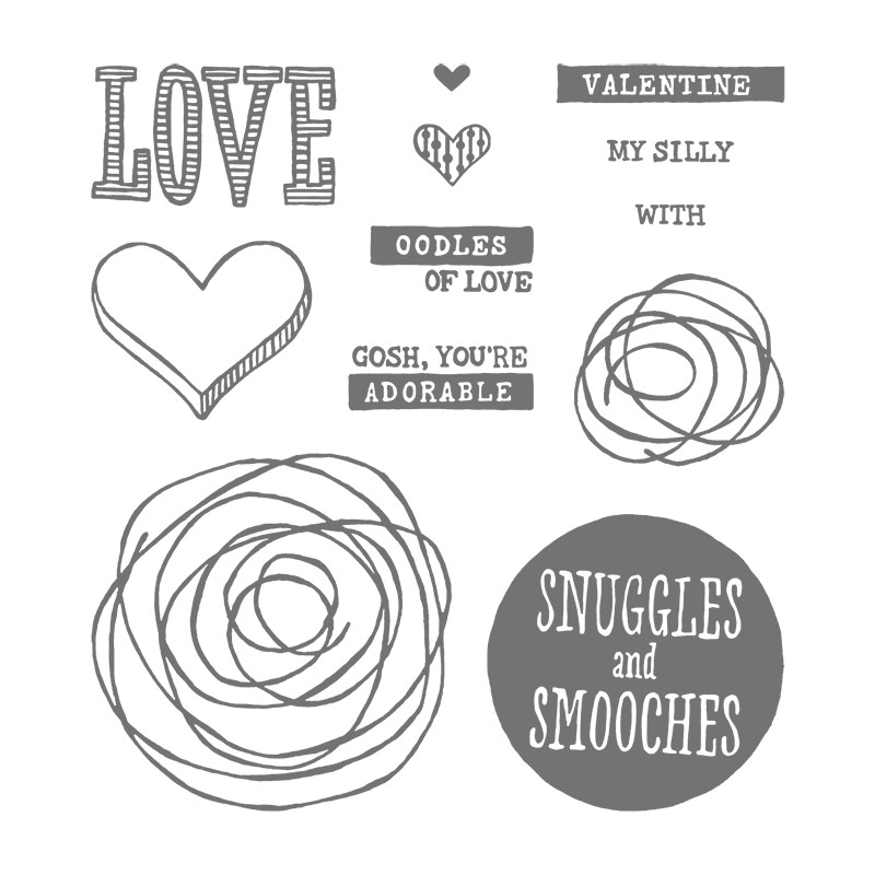 Stampin' Up! Snuggles and Smooches stamp set