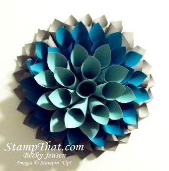 Paper Flower Wreath class