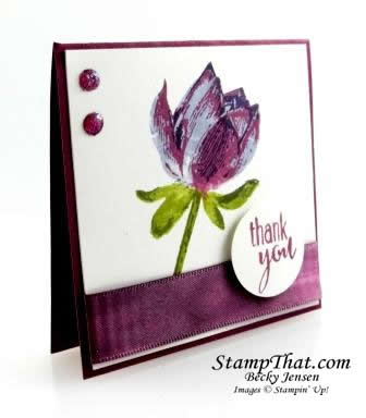 Stampin' Up! Lotus Blossom stamp set