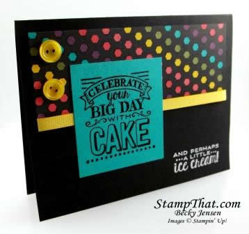 Stampin' Up! Big Day stamp set