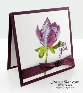 Lotus Blossoms stamp set