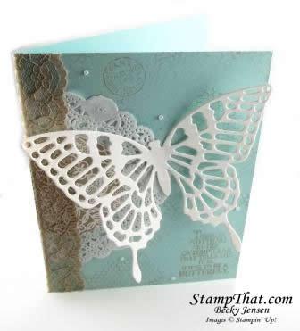 Butterfly Basics handmade card