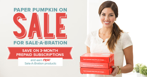 My Paper Pumpkin Sale