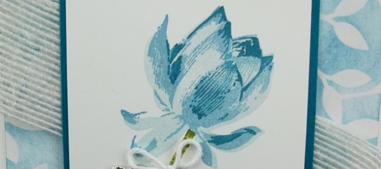 Irresistibly Yours Lotus Blossom Card