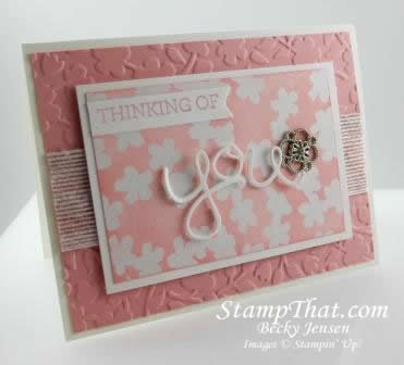 Irresistibly Yours DSP & Crazy About You Stamp set
