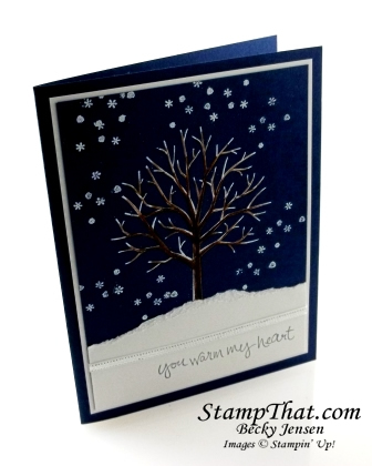 Stampin' Up! Sheltering Tree stamp set