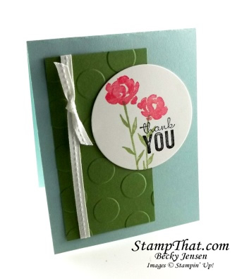 Stampin' Up! Petite Petals stamp set