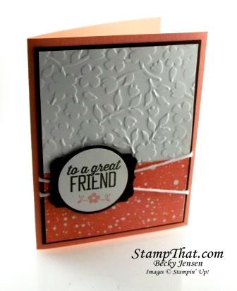 Simply Wonderful stamp set