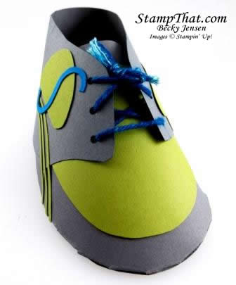 Handmade paper shoe